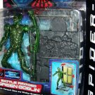 Toy Biz Spider Man Movie Battle Ravaged Green Goblin Action Figure With Catapult Base New