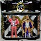 WWE Jakks Pacific Classic Superstars Series 4 Classy Freddie Blassie & Hulk Hogan Action Figures New