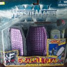 WWF WWE Jakks Wrestlemania XV Grapple Gear Casket Match with Coffin - Shovel - Tombstones New