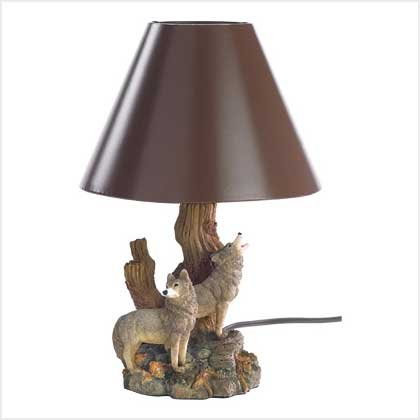 Timberwolf Lamp #39084