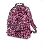 Pink Leopard Print Backpack #38724