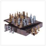 Chinese Warrior Chess Set #34100