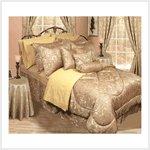 Gold Bedding Ensemble-30 piece #38599