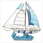 Glass Sailboat #38073
