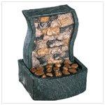 Rock Wall Tabletop Fountain #33541