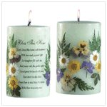"""Bless This Home"" Candle #34040"