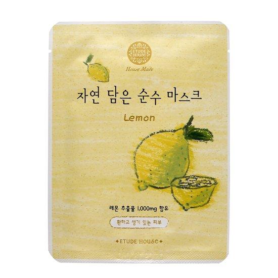 ETUDE HOUSE:  Lemon Essence Mask