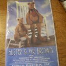 OOP Buster & Mr Brown Shaggy Plush Bears Pattern Indygo Junction