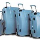 Heys USA 4 Piece Cruzer3 Luggage Set Cruzer Built in Light Blue