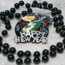 HAPPY NEW YEAR BEAD MARDI GRAS BEADS NEW PARTY FAVORS