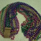 "LOT 12  70"" 12MM MARDI GRAS BEADS PARTY FAVORS"