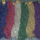 144 ASST ROUND MARDI GRAS BEADS PARTY FAVORS