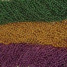 HUGE LOT PURPLE GREEN GOLD MARDI GRAS BEADS PARTY FAVOR