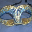 Blue Child or Adult Venetian Mask Masquerade Mardi Gras