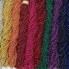 72 Color Choice Mardi Gras Beads Party Favors Necklaces 6 Dozen 7mm 33 inch