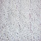60 White Pearl Mardi Gras Beads Party Favors Necklaces 5 Dozen Lot