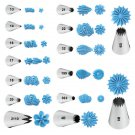 Wilton Open Star Decorating Tips New Assorted Sizes Cake Icing Decoration Tip