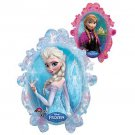 Disney Frozen Balloon Party Supplies Elsa Anna One (1) Double Sided Mylar Foil