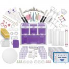 Wilton Ultimate Professional Decorating Kit Tool Caddy Purple contain 177 pieces