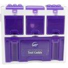 Wilton Ultimate Tool Caddy Purple NIB 3 levels 9 compartments