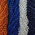 48 Patriots Broncos Superbowl Party Favors Football Mardi Gras Beads Tailgate