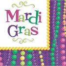 Mardi Gras Collection Party Supplies Lunch Napkins Beverage Celebration Decor