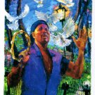 2013 #797 Aaron Neville Michalopoulos New Orleans Jazz Festival Poster