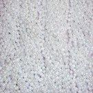 144 White Pearl Mardi Gras Beads Party Favors Necklaces 12 Dozen Lot