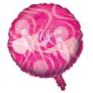 """Fabulous Pink Cocktail Drink Birthday Party Supplies 18"""" Foil Balloon Mylar"""