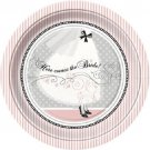 "Elegant Wedding Bridal Shower Engagement 9"" Lunch Dinner Plates Party Supplies"