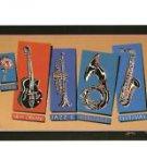1986 New Orleans Jazz Fest Festival Poster Post Card
