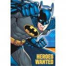 Batman Birthday Party Supplies Invitations Envelopes Seals Save the Dates 8 each