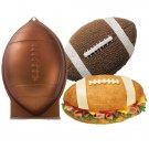 Wilton Football 1st First N 10 Mold 3D Cake Pan Rocket Shark Bread Easter Eggs