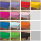 Tablecover Tablecloth Red Blue Yellow Green Purple Pink Lavender Black Orange