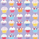 Sweet Cupcake Birthday Party Supplies Decor Table cover Tablecloth 48 x 88