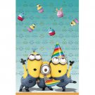 Despicable Me 2 Minions Birthday Party Supplies 54in x 84in Plastic Table Cover