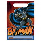 Batman Heroes Villans Birthday Party Supplies Loot Favor Bags 8 ct