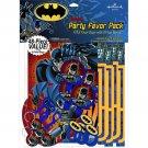 Batman Heroes Villans Birthday Party Supplies Favors Pack 40 pc Bags 8 per guest