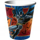 Batman Heroes and Villans Birthday Party Supplies 9 oz 8 ct Hot Cold Paper Cups