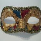 Titan Gold Teal Red Venetian Mardi Gras Masquerade Mask Prom Men Boy
