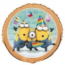"Despicable Me 2 Minions Birthday Party Supplies 18"" Foil Mylar Balloon 1 ct Dave"
