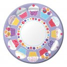 Sweet Cupcake Birthday Party Supplies Plates Dessert or Lunch
