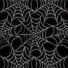 Halloween Dancing Skeletons Black Spider Webs Tablecover 54 x 108 Party Supplies