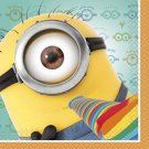 Despicable Me 2 Minions Birthday Party Supplies Beverage Napkins 16 ct Dave