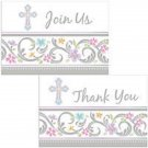 Blessed Day Invitations or Invites and Thank you set  Party Supplies