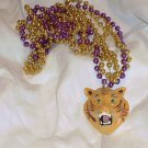 LSU Tiger Purple Gold Mardi Gras Beads Bead Party Favors