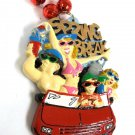 Spring Break Car Girls Beach Mardi Gras Bead Necklace