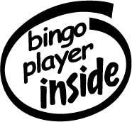 Bingo Player Inside Decal Sticker