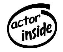 Actor Inside Decal Sticker