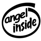 Angel Inside Decal Sticker